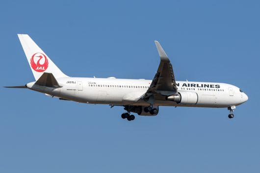 JL/JAL/日本航空 JL740 B767-300ER JA616J
