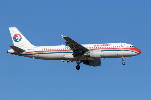 MU/CES/中国東方航空 MU775 A320 B-6757