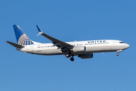 UA/UAL/ユナイテッド航空 UA195 B737-800 N39297