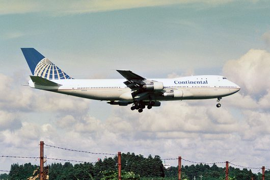 CO/コンチネンタル航空 B747-100 N78020