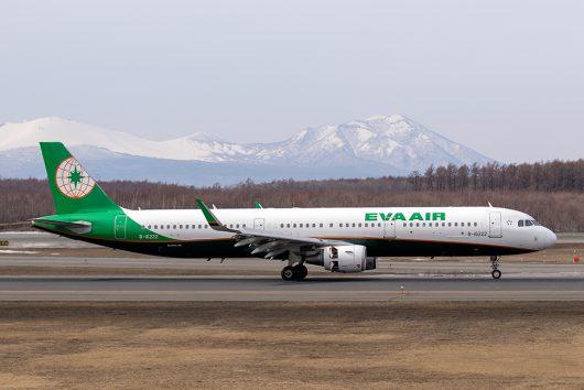 BR/EVA/エバー航空  A321 B-16222