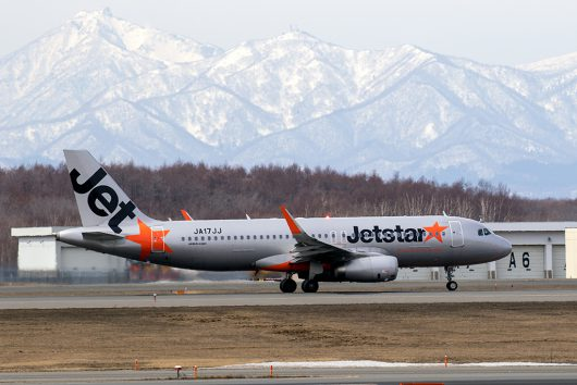 GK/JJP/ジェットスタージャパン  A320 JA17JJ
