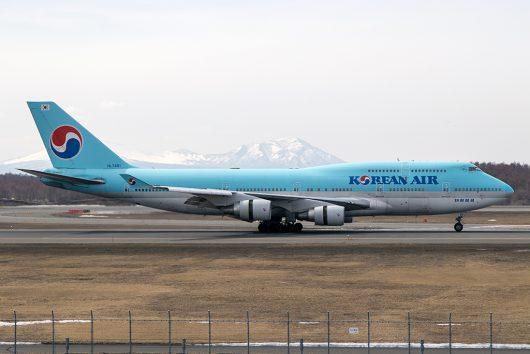 KE/KAL/大韓航空  B747-400 HL7461