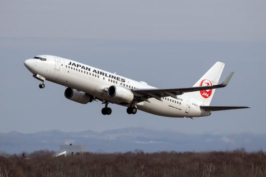 JL/JAL/日本航空  B737-800 JA301J