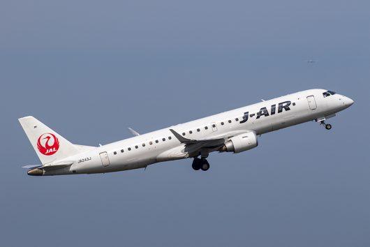 JL/JAL/日本航空  ERJ190 JA243J