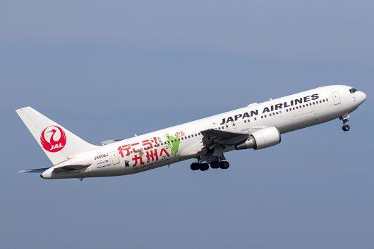 JL/JAL/日本航空 JL555 B767-300ER JA656J