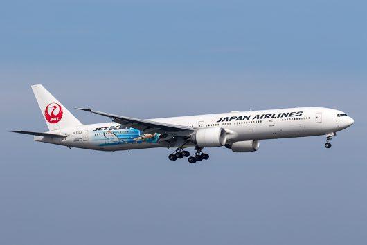 JL/JAL/日本航空 JL46 B777-300ER JA733J