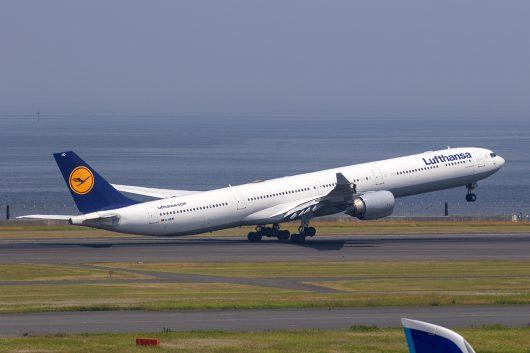 LH/DLH/ルフトハンザ・ドイツ航空 LH715 A340-600 D-AIHD