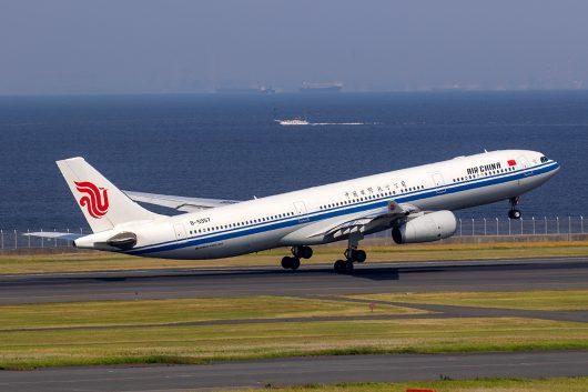 CA/CCA/中国国際航空 CA182 A330-300 B-5957