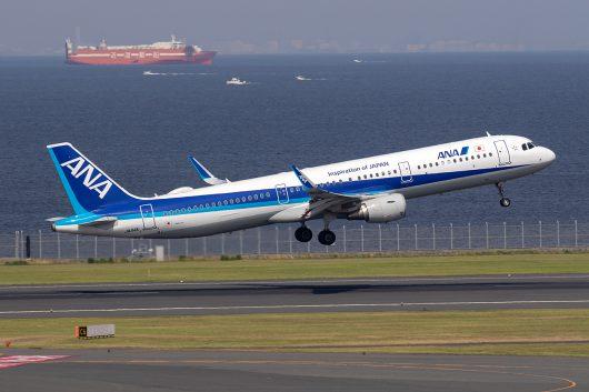 NH/ANA/全日空 NH405 A321 JA114A