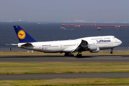 LH/DLH/ルフトハンザ・ドイツ航空 LH717 B747-8 D-ABYC