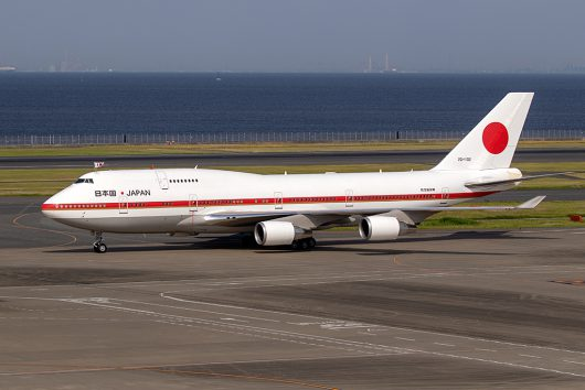 Japanese Air Force 001 20-1102 B747-400