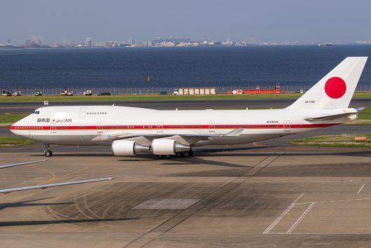 Japanese Air Force 001 20-1102 B747-400