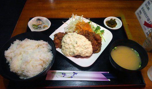 チキン南蛮定食(ライス大盛り)1100円