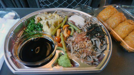 福もり蕎麦(680円)