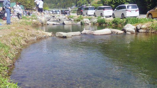 渓流釣り区画