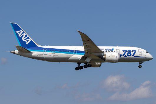 NH/ANA/全日空  B787-8 JA808A