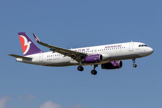 NX/AMU/マカオ航空  A320 B-MCF