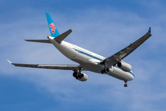 CZ/CSN/中国南方航空 CZ385 A330-300 B-8366