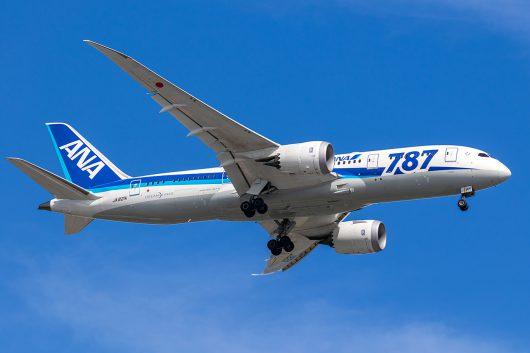 NH/ANA/全日空 NH864 B787-8 JA821A