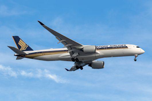 SQ/SIA/シンガポール航空 SQ632 A350-900 9V-SMU
