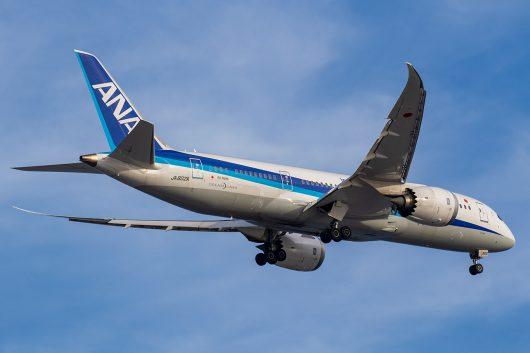 NH/ANA/全日空 NH852 B787-8 JA802A