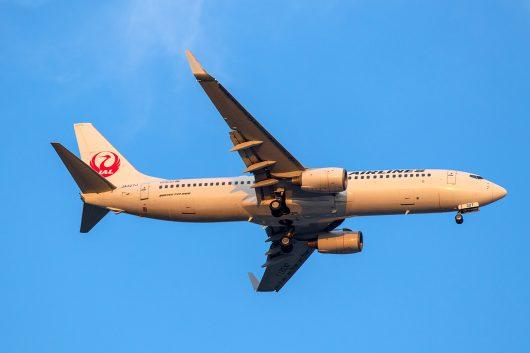 JL/JAL/日本航空 JL347 B737-800 JA327J