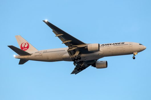 JL/JAL/日本航空 JL322 B777-200 JA010D
