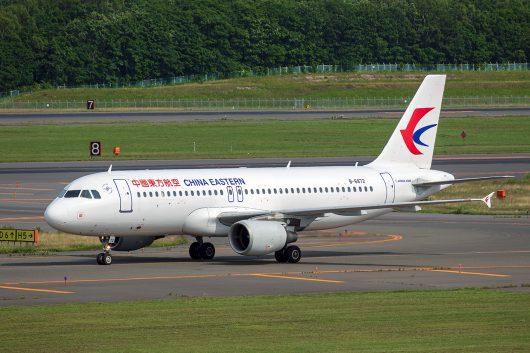 MU/CES/中国東方航空  A320 B-6872
