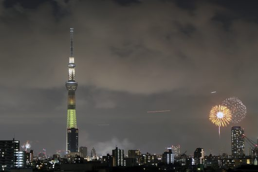 第41回隅田川花火大会 第一会場・第二会場