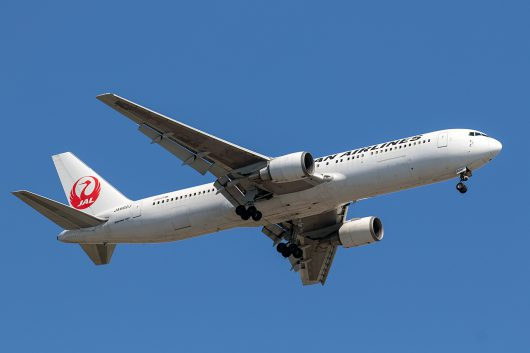 JL/JAL/日本航空 JL118 B767-300ER JA602J