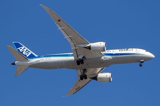 NH/ANA/全日空 NH864 B787-8 JA831A