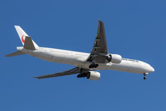 JL/JAL/日本航空 JL46 777-300ER JA738J
