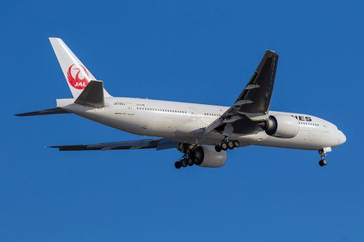 JL/JAL/日本航空 JL82 B777-200ER JA706J