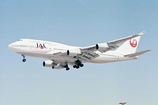JL/JAL/日本航空 B747-400 JA8076