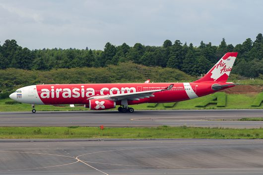 XJ/TAX/タイ・エアアジア・X XJ601 A330-300 HS-XTF
