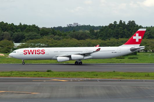 LX/SWR/スイス国際航空 LX161 A340-300 HB-JMC