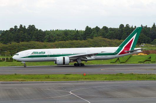 AZ/AZA/アリタリア航空 AZ784 B777-200ER EI-ISA