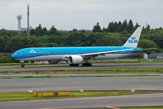 KL/KLM/KLMオランダ航空 KL862 B777-300ER PH-BVS