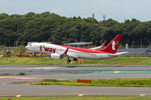 TW/TWB/ティーウェイ航空 TW9235 B737-800 HL8300
