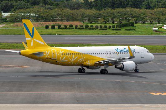 JW/VNL/バニラエア  A320 JA12VA