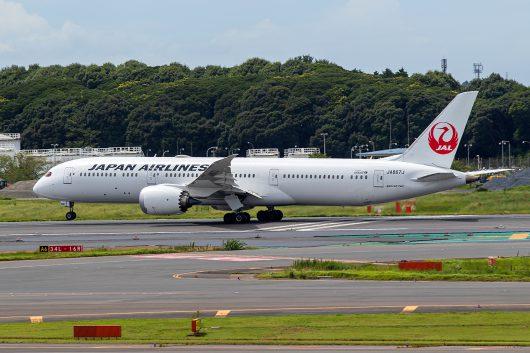 JL/JAL/日本航空 JL413 B787-9 JA867J
