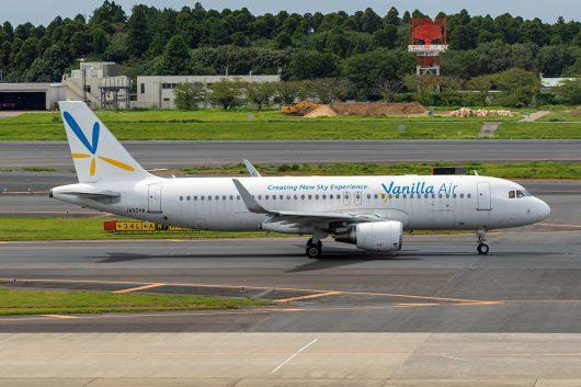 JW/VNL/バニラエア JW805 A320 JA02VA