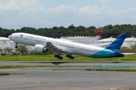 GA/GIA/ガルーダ・インドネシア航空 GA881 B777-300ER PK-GIC