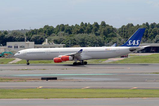 SK/SAS/スカンジナビア航空 SK984 A340-300 OY-KBD