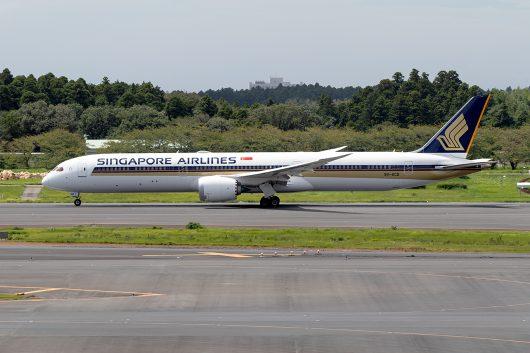 SQ/SIA/シンガポール航空 SQ637 B787-10 9V-SCD