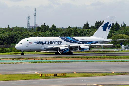 MH/MAS/マレーシア航空 MH89 A380 9M-MND