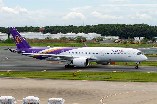 TG/THA/タイ国際航空 TG643 A350-900 HS-THL