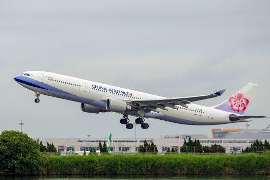 CI/CAL/チャイナエアライン  A330-300 B-18358