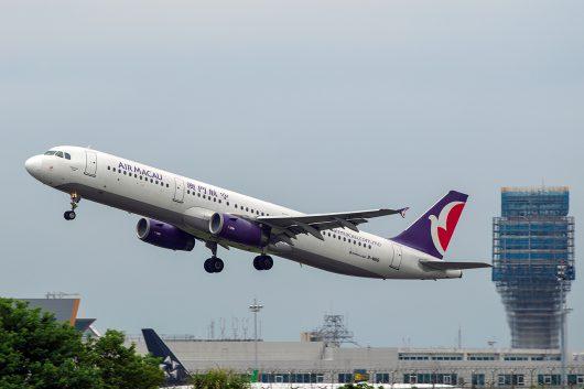 NX/AMU/マカオ航空  A320 B-MBB